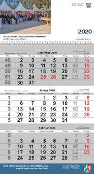Kalender 2020 - Hängekalender 3-Monate