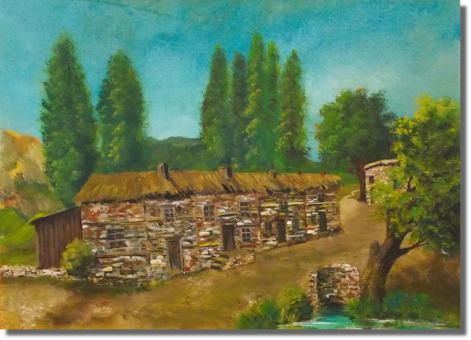 Altkurdisches Dorf