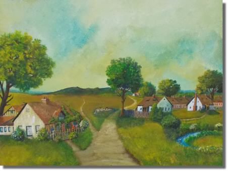 Dorf am Bach