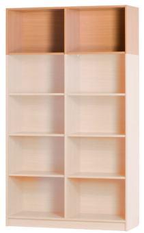 Aufsatzregalkorpus 1200 x 431 x 720 mm inkl. 1 Mittelwand