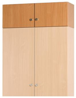 Aufsatzschrankkorpus 1200 x 450 x 720 mm inkl.1 Mittelwand/ 2 Türen