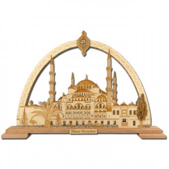 Lichterbogen 'Blaue Moschee'