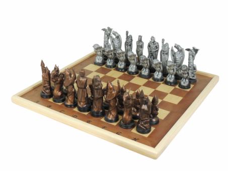 Schachspiel inclusive Brett