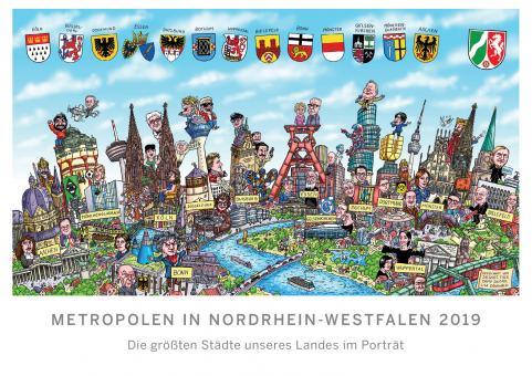 "Kalender ""METROPOLEN IN NORDRHEIN-WESTFALEN 2019"""