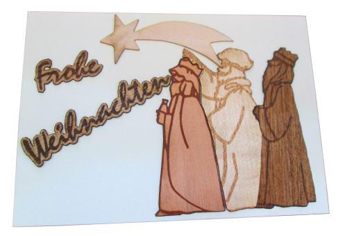 """Postkarte """"Drei Könige"""""""