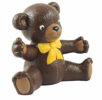 Teddy mit großer Schleife
