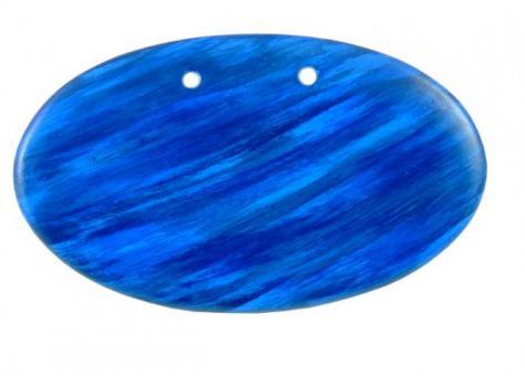 Türschild 'blau' mit individueller Beschriftung