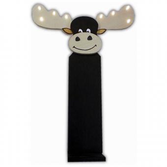 Kleiner Elch mit LED-Lichterkette