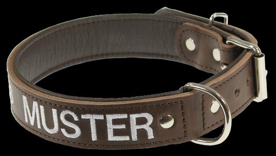 Halsband aus Leder - normal -