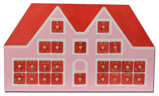 Adventskalender 'Haus'