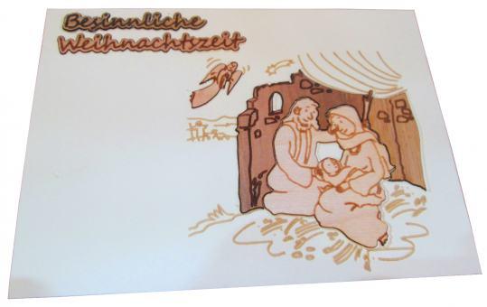 "Postkarte ""hl. Familie"""