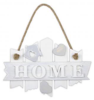 vintage Türschild ''HOME'