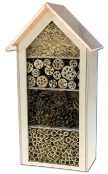 Insektenhotel mit Kupferdach
