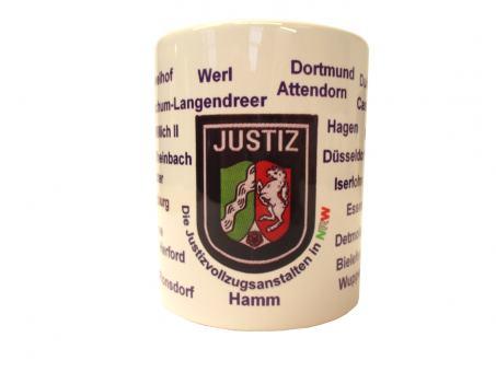 "Justizkaffeetasse ""Justizvollzugsanstalten NRW"""