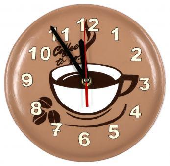 Wanduhr 'Kaffee'