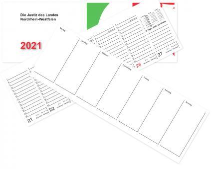 Kalender 2021 - Tischklapp 2-seitig