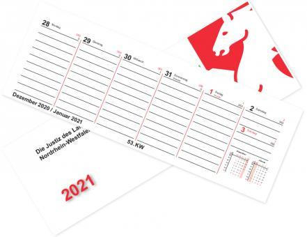 Kalender 2021 - Tischklapp 1-seitig