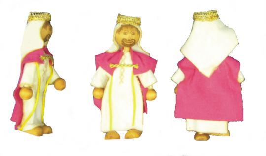 Krippenfigurenset 'Drei Könige'