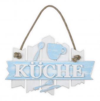 vintage Türschild 'KÜCHE'