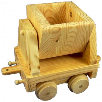 Holzspielzeug Lorengüterwagen