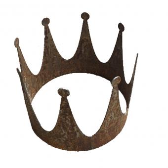 Deko Krone klein Stahl