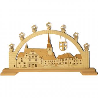 Lichterbogen 'Werl - Alter Marktplatz mit Propsteikirche'
