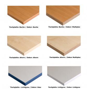 Einlegeboden für Schrank/Regal 1000 mm mit Mittel- und Zwischenwand (Z) ***
