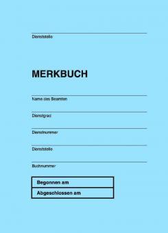 Merkbuch für die Polizei NRW