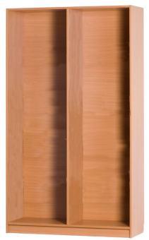 Regalkorpus 1000 x 431 x 2080 mm inkl. 1 Mittelwand (ohne Einlegeböden)