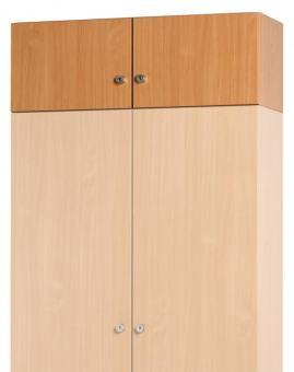 Aufsatzschrankkorpus 1200 x 450 x 420 mm inkl.1 Mittelwand/ 2 Türen