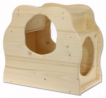 Sandfang-Schleuse für Kaninchen-Buddelkiste