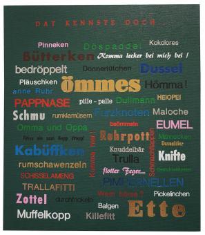 "Schild ""Ruhrpott"""