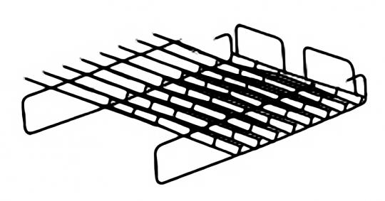 Schrägablage flach, 8 Fächer (3HE)