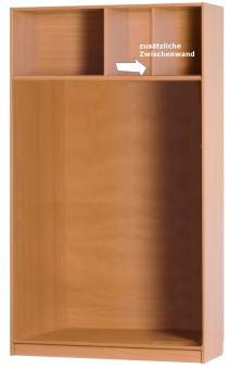 zusätzliche Zwischenwand für Schrank/Regal (Korpus/Aufsatz) 420 mm ***