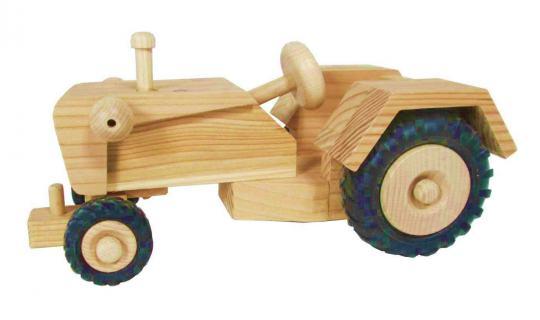 Holzspielzeug Trecker ohne Kabine