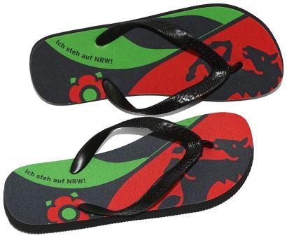 Summer Shoes 'Ich steh auf NRW' - bunt