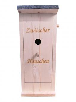 Zwitscherhaus Deko