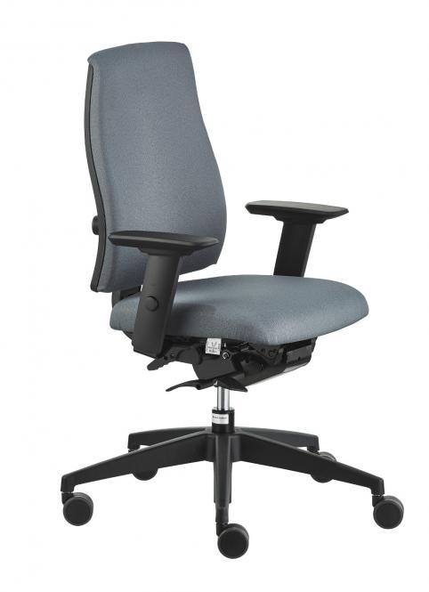 Bürodrehstuhl Modell 152 GJ Bezug 5801