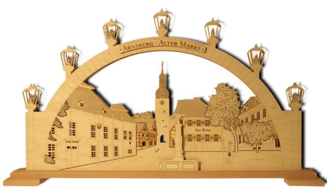 Lichterbogen 'Arnsberg - Alter Markt'