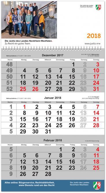 3-Monats-Hängekalender