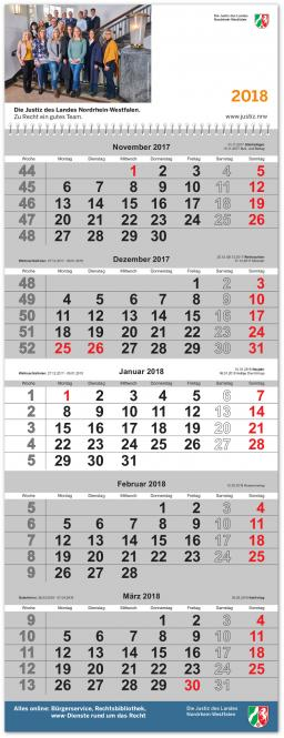 5-Monats-Hängekalender