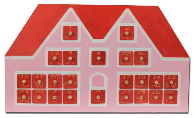Adventskalender 'Haus'