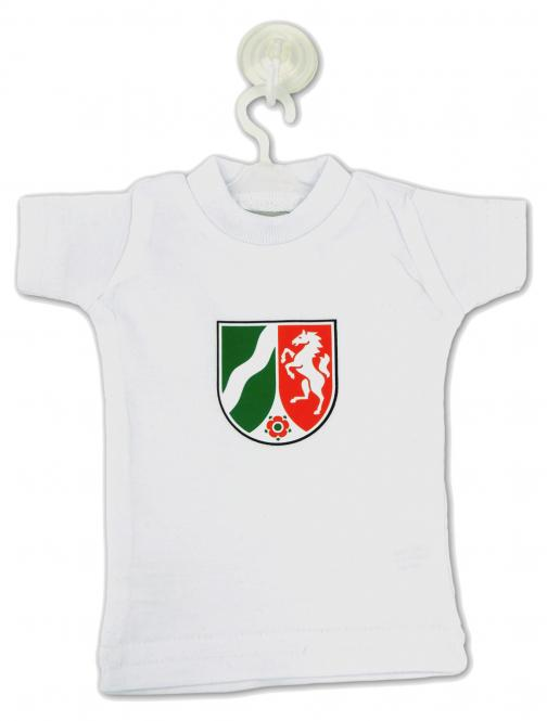 Mini-T-Shirt mit NRW-Landeswappen