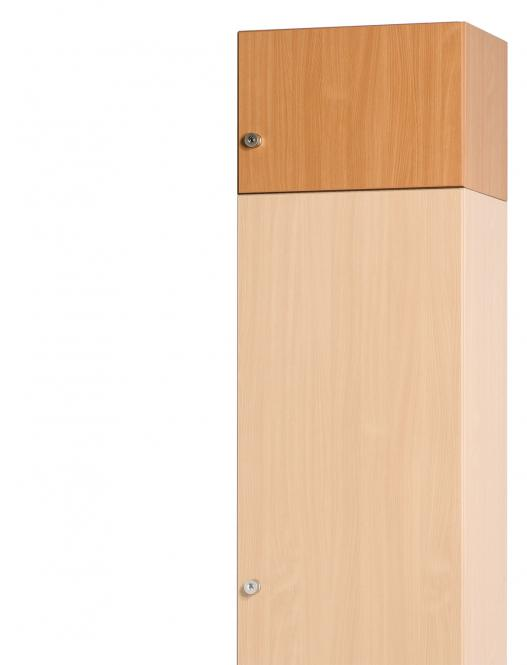 Aufsatzschrankkorpus 300 x 450 x 420 mm inkl. Türen