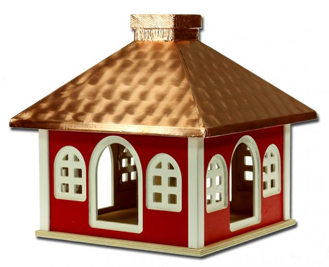 Futterhaus mit Kupferdach