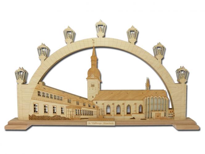 Lichterbogen St. Walburga Meschede