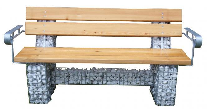 gabionenbank kleve 1. Black Bedroom Furniture Sets. Home Design Ideas