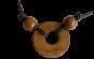 Halskette mit rundem Anhänger - Vorschaubild 2