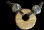 Halskette mit rundem Anhänger - Vorschaubild 4