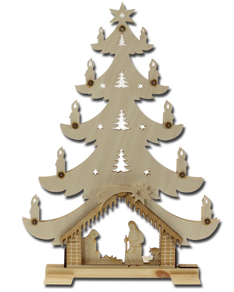 Bildergebnis für Weihnachtsbaum mit Krippe